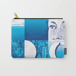 Cyan Carry-All Pouch