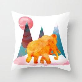 Mammoth Mountains Throw Pillow