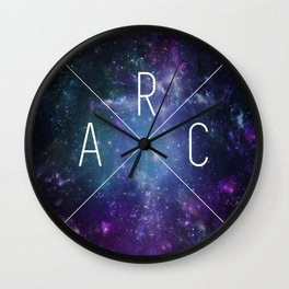 ARC Logo Galaxy Wall Clock