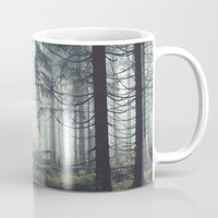astronomy Mugs featuring Through The Trees by Tordis Kayma