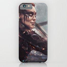 Warrior Lexa iPhone Case