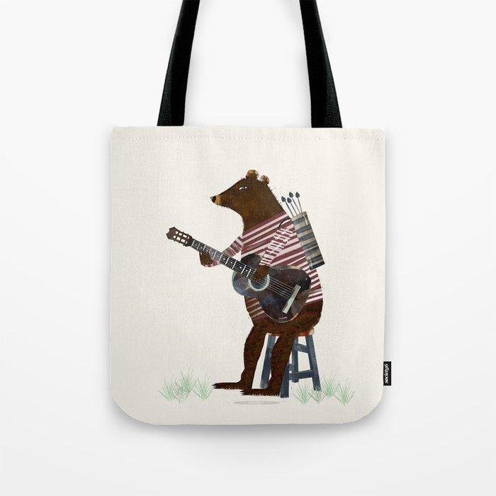 guitar song Tote Bag