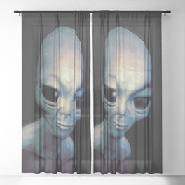 Alien Sheer Curtain