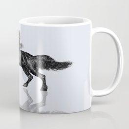 Black Unicorn Coffee Mug