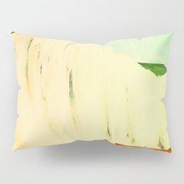 White Chalk Cliffs Pillow Sham