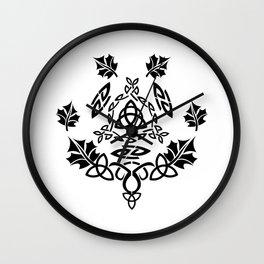 Celtic Design Wall Clock