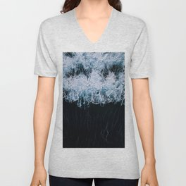 The Color of Water - Seascape Unisex V-Neck