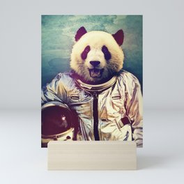 Space Bear Mini Art Print