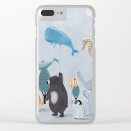 nature parade Clear iPhone Case