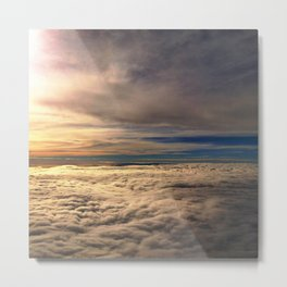 Head in the Clouds. Copyright 2013. Metal Print