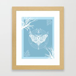 Witch Craft Winter Framed Art Print