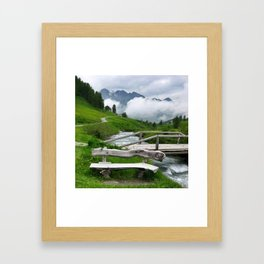 GREEN ART Framed Art Print