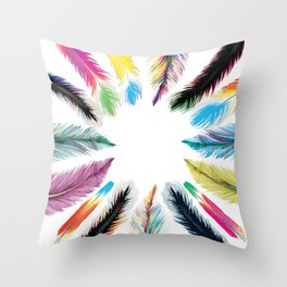 The Tribe Throw Pillow