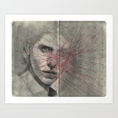 Obscure, Destroy Sketchbook Spread 1 Art Print