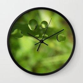 Globules Wall Clock