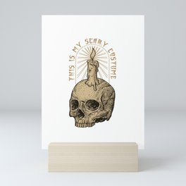 This Is My Scary Costume Mini Art Print