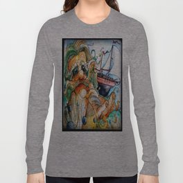 Old Man & The Sea  Long Sleeve T-shirt
