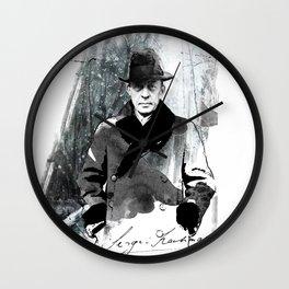 Rachmaninoff Wall Clock