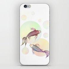 Two Koi iPhone & iPod Skin