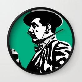 Giacomo Puccini (1858 – 1924) digitized photography Wall Clock