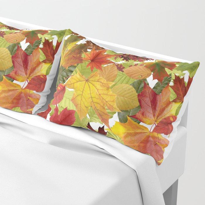 Autumn Fall Leaves Kissenbezug