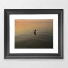 Ripples Framed Art Print
