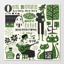 Our House Canvas Print
