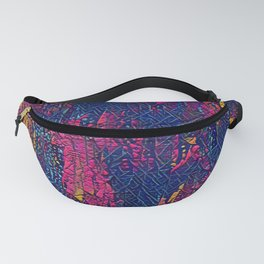 abstract colors Fanny Pack