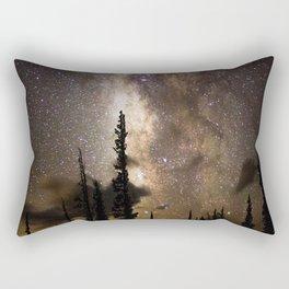 Mountain Milky Way Rectangular Pillow