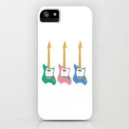 Strumming the guitar! iPhone Case