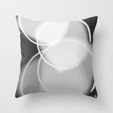 Colorblind Opal  Throw Pillow