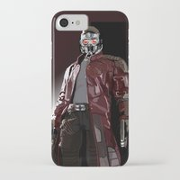 star lord iPhone & iPod Cases featuring Star Lord Fan Art by Vito Fabrizio Brugnola