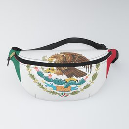 mexican sports fan mexico flag Fanny Pack