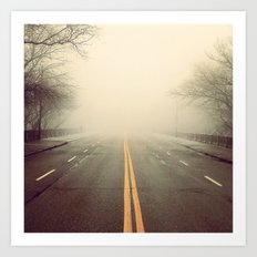 Road Ahead Art Print