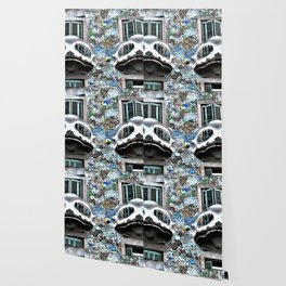 Spanish balcony Wallpaper