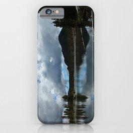 Sprague Lake Cloud Reflection iPhone Case