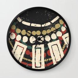 Necklaces Wall Clock