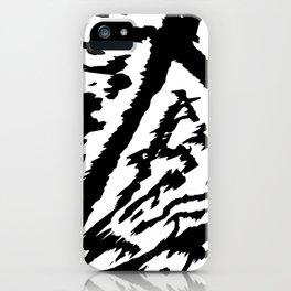Hype Divine - B&W iPhone Case