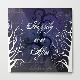 Happily Ever After ~ Fairytale Forest  Metal Print