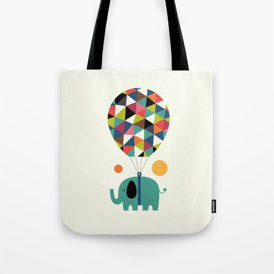 Fly High And Dream Big Tote Bag