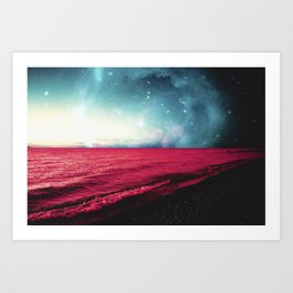 Neptune's Shores Art Print