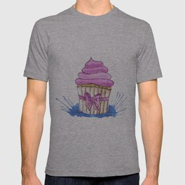 Cupcake with bow T-shirt