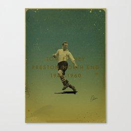 Preston North End - Finney Canvas Print