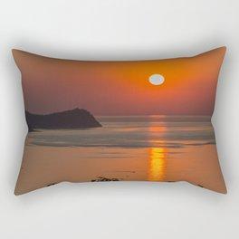 Fishing morning Rectangular Pillow