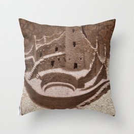 Mesa Verde Cliff Dwellings Throw Pillow