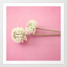 sweet clover Art Print