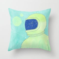 Wanderer Within Throw Pillow