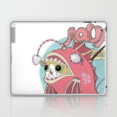 Aqua cat_Muka Laptop & iPad Skin