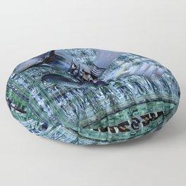 Burn-out Floor Pillow