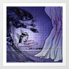 horror story 2 Art Print